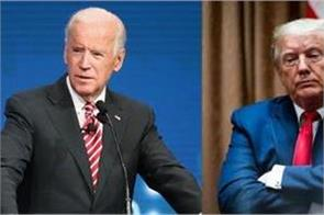 us presidential election in survey trump backward biden has great lead