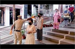 court opens on trial base 550 devotees visit mata