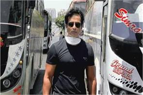 sonu sood prevented from meeting migrant workers at bandra terminal