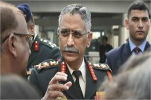 army chief spoke on china dispute situation under control