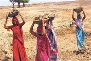 record demand for work in villages from mnrega