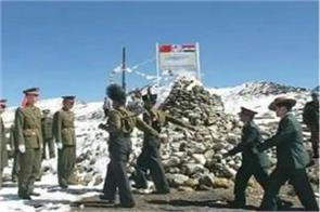 ladakh major general level talks between indo chinese forces today