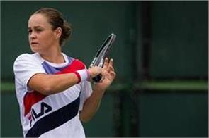 fearing the corona ashleigh barty also expressed concern over the us open event
