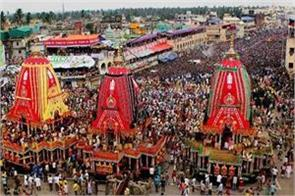 gujarat rath yatra will be organized in a simple manner due to corona