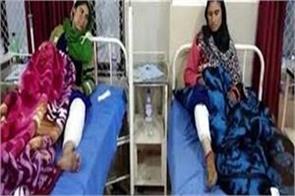 women injured in bear attack in jammu