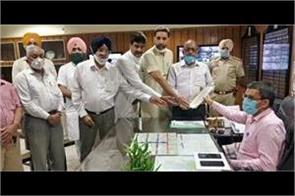 shiromani akali dal sent a demand letter to the governor of punjab