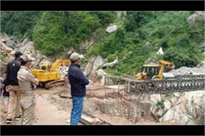 bro builds  bailey bridge  in five days doubles capacity