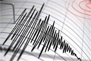 earthquake tremors in ladakh intensity 4 5 on richter scale