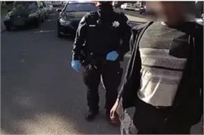 black man was dancing on the street police arrested