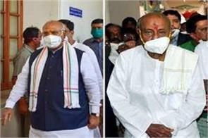 former pm deve gowda elected unopposed rajya sabha mp