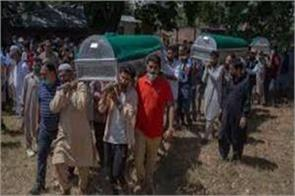 three dead bodies of one family in poonch pakistan cfv on jammu loc
