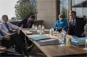 eu leaders extend summit as they haggle over budget coronavirus