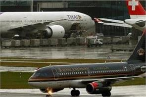 international flight resume on 5th august on jordan s airport