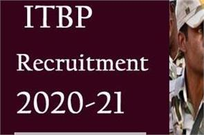 itbp recruitment 2020 21 apply online for 51 constable vacancies