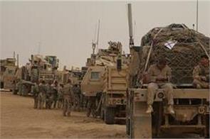 terrorist attack on us military supply escort in iraq
