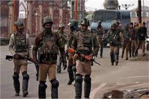 search operation in tral kashmir