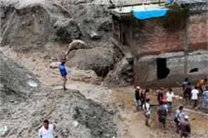 12 people killed 19 missing in nepal landslides