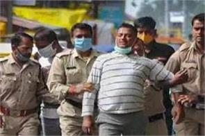 soldier on suv coming from ujjain to vikas dubey gets corona infected