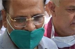 delhi health minister satendra jain will come today office