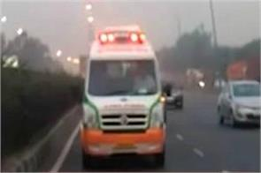 ambulance driver demands rs 9 200 from covid 19 patients