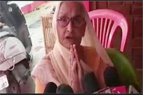 vikas dubey s mother appeals to younger son surrender