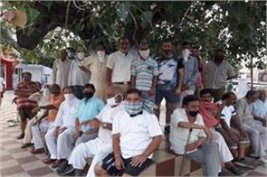 water and power problem in gurha slathia of vijayppur