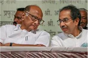 non shiv sena leader sharad pawar printed interview in saamana