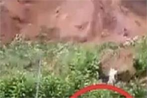 landslide indonesia video viral social media