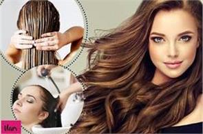do a hair spa like a parlor at home hair will be shiny and silky