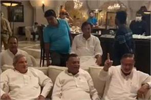 rajasthan congress mla seen playing antakshari