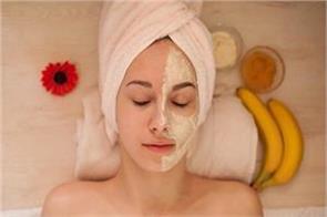 banana facepack for dry skin