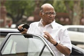 i did not want bjp shiv sena to come together sharad pawar