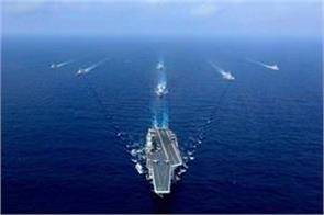 indian navy prepares to circle china at sea