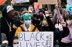 protests in australia to support black lives matter movement