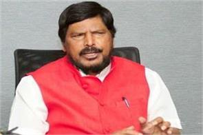 ramdas athawale s offer to ncp form government in maharashtra with bjp