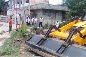 mansar lake overflow problem solved after news published in punjab kesari