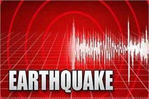earthquake tremors felt in mizoram 4 3 on richter scale