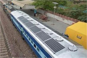 bhel plans to run solar power trains soon in india