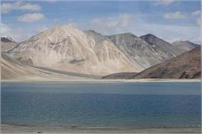 further reduction in chinese military presence in pangong so area sources