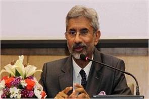 mea jaishankar praised china by referring to the era of rajiv gandhi