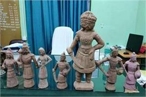 35 crore rupees ancient idols recovered in west bengal
