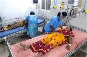 14 laborers unconscious after gas leaking at chittoor dairy plant