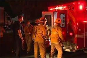 5 people injured in firing during a party in los angeles
