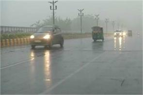 rain in delhi today