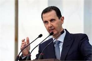 syria president assad suffers brief in blood pressure