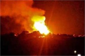 big explosion hits turkish base in northwest syria