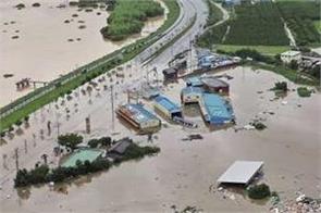 heavy rain in south korea kills at least 30 people
