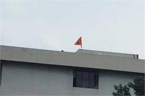 2 youths arrested in delhi who hoisted khalistani flag at dc office