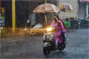 light to moderate rain in delhi for next 6 days