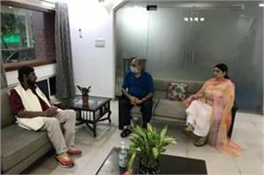 ramdas athawale met sushant father and sister